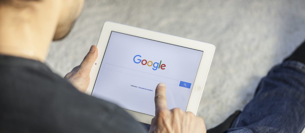 je website vinden in Google